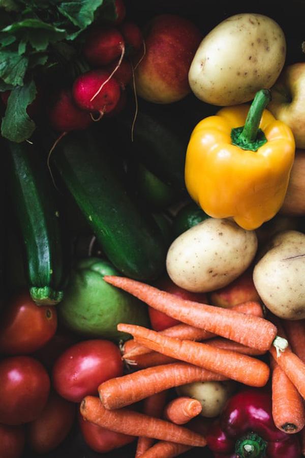 органические полезные овощи