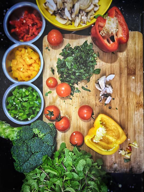 Питательные вещества  овощах